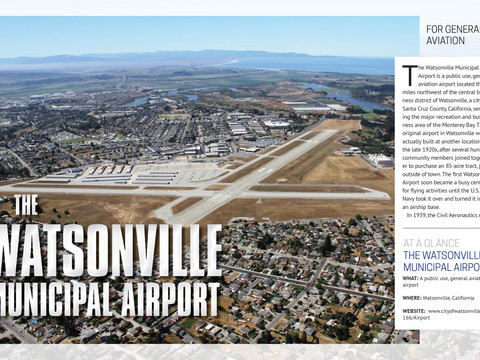 Watsonville Municipal Featured in Business View Magazine