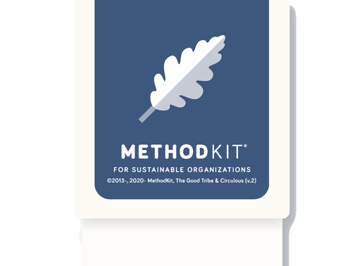MethodKit for Sustainable Organizations - soon ready for orders, and the story behind