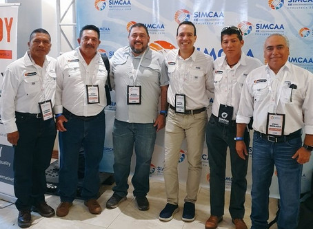 Team Acuamaya present at the SIMCAA Forum, Honduras 2019
