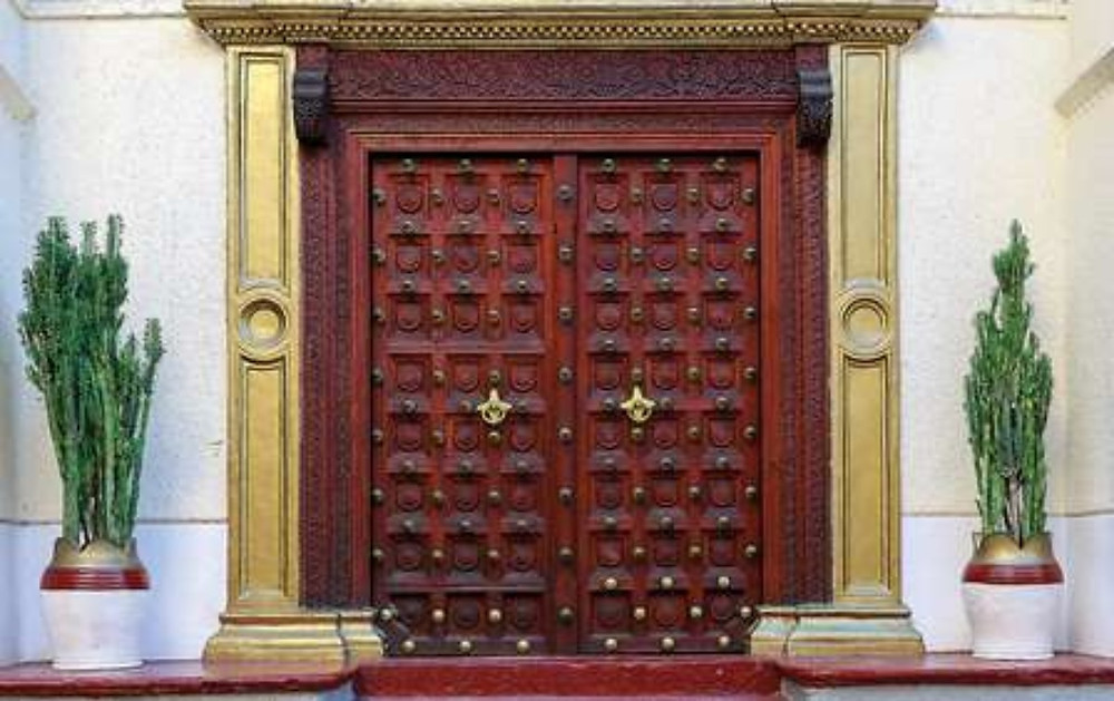 The Main Gate Of The House Became The Door To Happiness