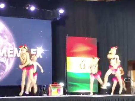 Barranquilleras ganan competencia mundial de baile