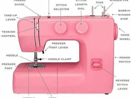 Anatomy Of A Sewing Machine