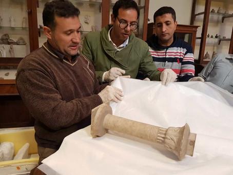 Новые поступления в Великий Египетский музей