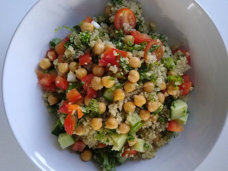 Kale, Quinoa and Avocado Salad
