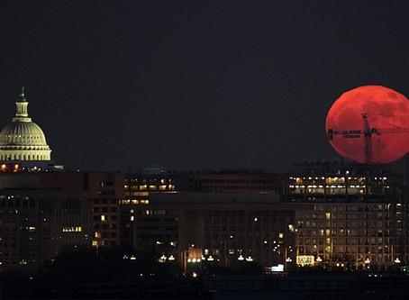 Super Blood Wolf Moon over Washington