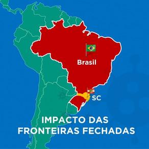 El gobierno de Brasil decide extender el cierre de la frontera por otros 30 días.