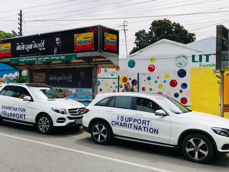 Mercedes-Benz owners come forward to support Charitnation humanitarian efforts during Lockdown