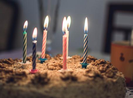 Here's to life! Happy Birthday.