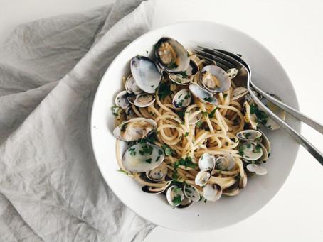 Spaghetti alle Vongole 義大利餐桌│原味蛤蜊義大利麵