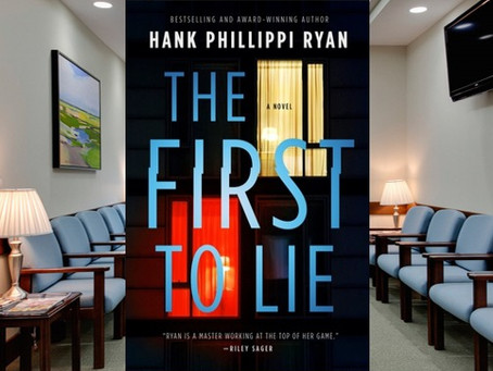 The First to Lie - corruption, betrayal and revenge in a compelling story where everyone is lying.
