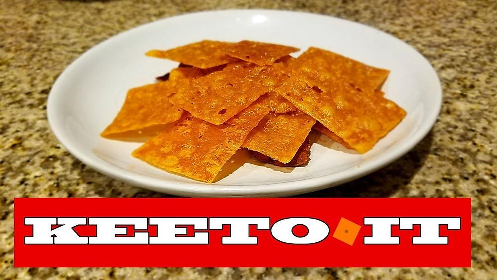 Keto Cheezit Cracker Recipe
