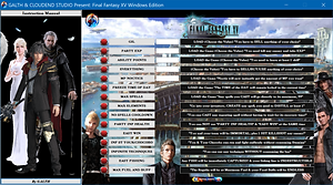 FINAL FANTASY XV WINDOWS EDITION, cheat, trainer, cheat happens, cheat engine, square enix, final fantasy, mod, chocobo, final fantasy vii, final fantasy 7, monster hunter world, fortnite, pubg, csi:go, pokemon, dragon ball, trucchi, trick, 13/12/2018, dragon ball xenoverse 3, anthem, world of warcraft, 18/06/2019,