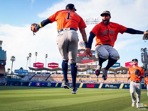 In Familiar Territory Astros take Game 1 of the ALDS over the A's at Dodger Stadium.