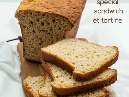 Un délice de pain sans gluten