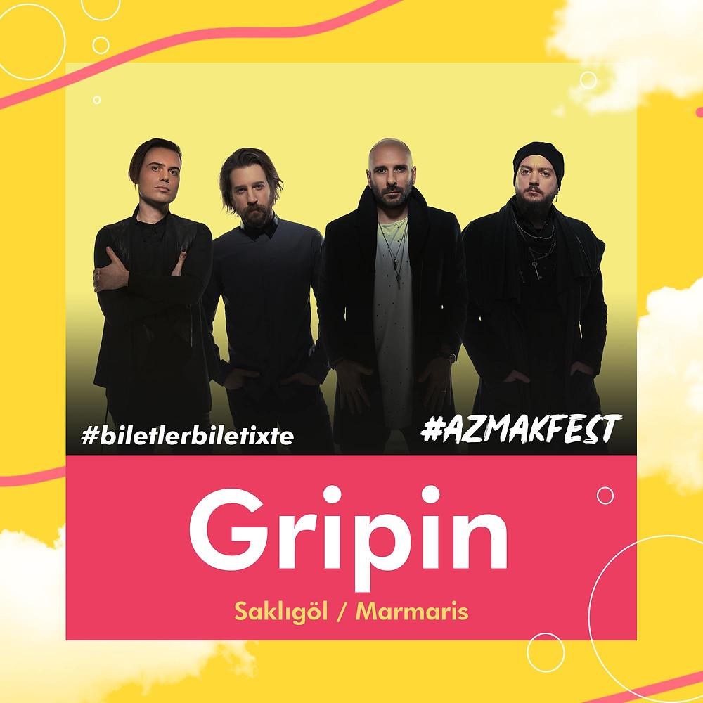 Yalnızlığın çaresini #AzmakFest'te bulmuşlar. Gripin ile unutulmaz bir festivale hazır ol!🎤