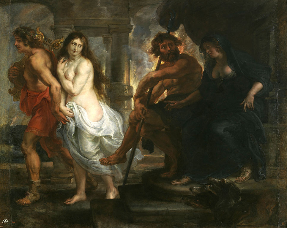 Peter Paul Rubens, Orpheus and Eurydice, 1638