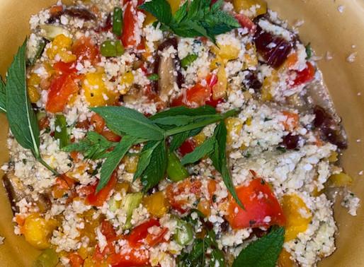Cauliflower 'Couscous' Salad 🥗
