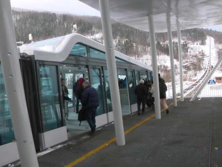 Combien le nouveau funiculaire, entre Bourg-saint-Maurice et les Arcs, économise-t-il de CO2 par ski