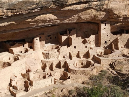 800 Year Old Cliff Dwellings