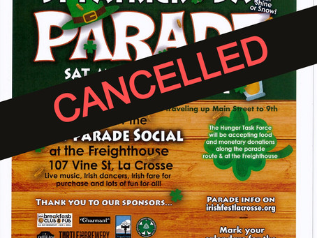 Saint Patrick's Day Parade-cancelled