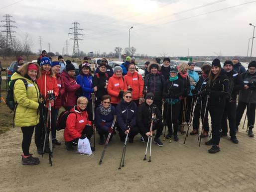 "Za nami Zimowy Rajd Nordic Walking ""Siechnicka Dycha"""