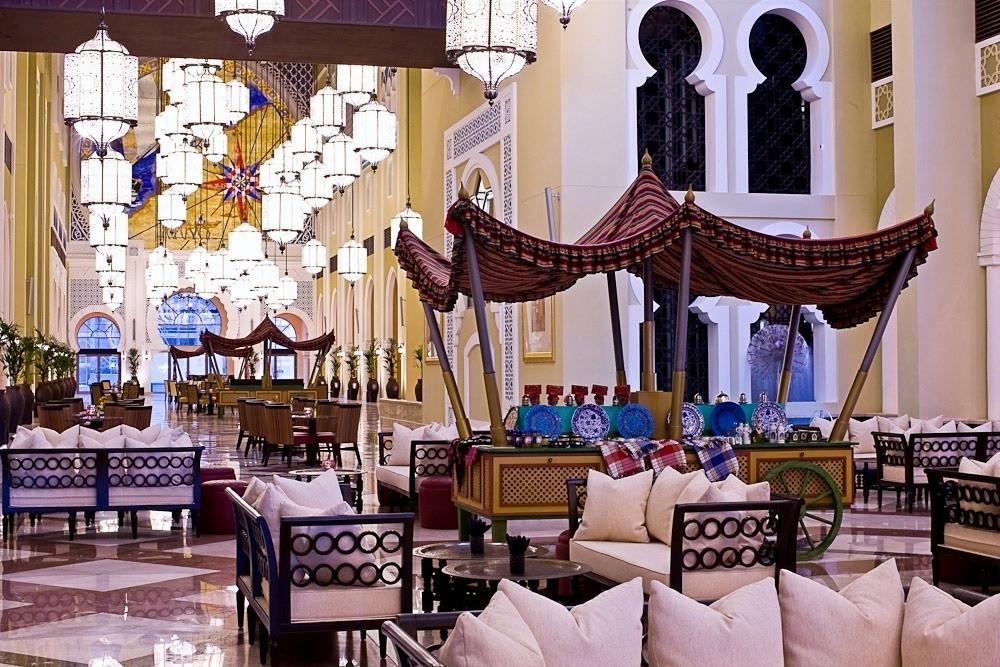 the five-star Mövenpick Ibn Battuta Gate Hotel,