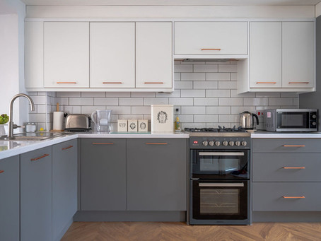 Gary & Verity's Minimal Kitchen - Exeter
