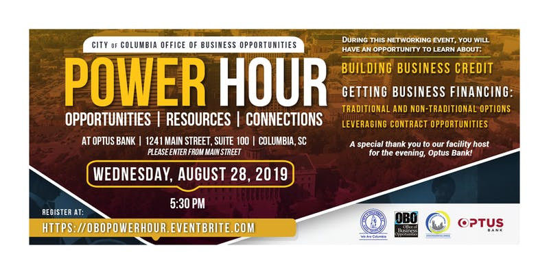 Power Hour: Opportunities, Resources & Connections _ Business Credit & Business Financing