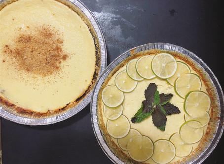 Ricotta Cheesecake with Valley Shepherd Creamery