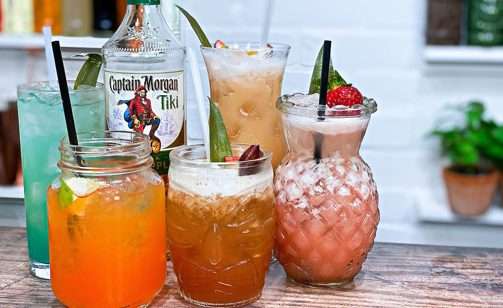 Captain Morgan Tiki Cocktails