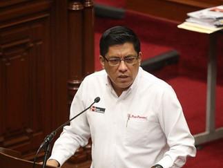 Zeballos se presentará sin temor ante el Congreso