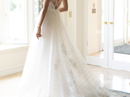 Our Tips for Choosing The Perfect Wedding Gown Train!