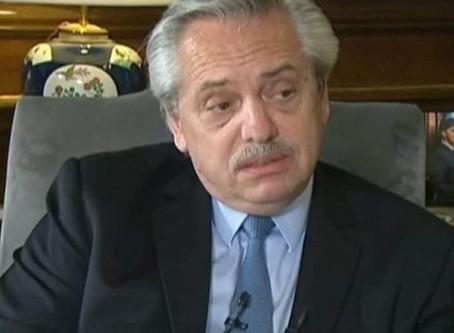 """Alberto Fernández. """"Estoy haciendo lo que prometí en campaña"""""""