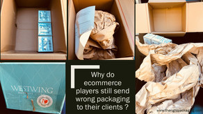 ecommerce players still do same  mistakes with packaging