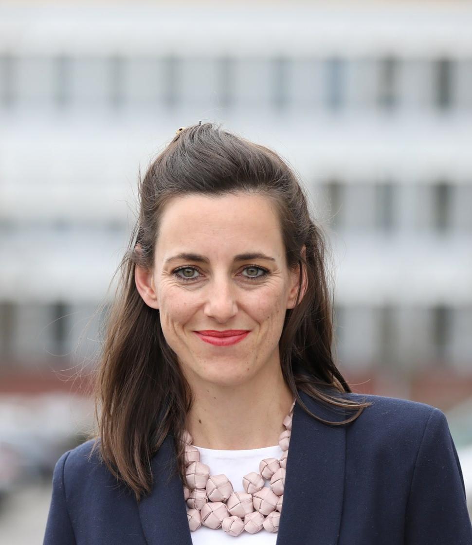 Simone Frey, Gründerin und Geschäftsführerin von Nutrition Hub