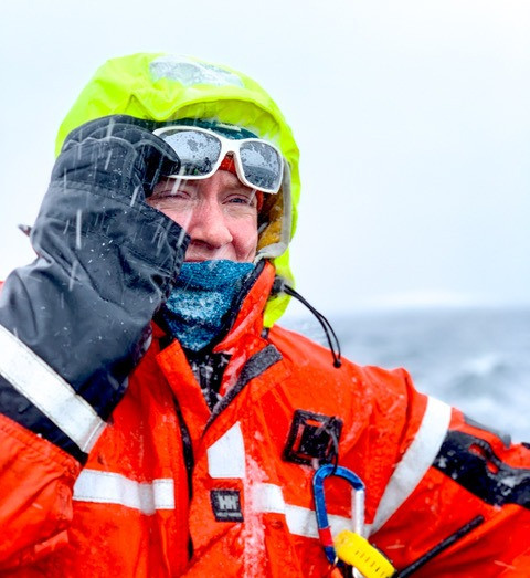 expedition guide, antarctica, polar guide, expedition guide academy, bad weather, snow storm, professional guide, EGA, PTGA, sarah merusi