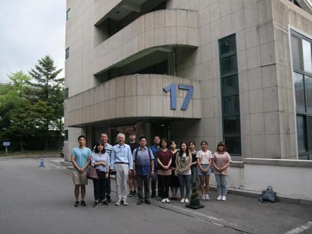 이상준 교수 세미나 기념사진