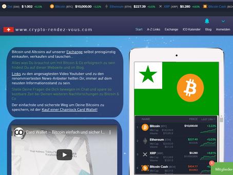 Bitcoin 10'000 USD zum ersten Mal im 2020!
