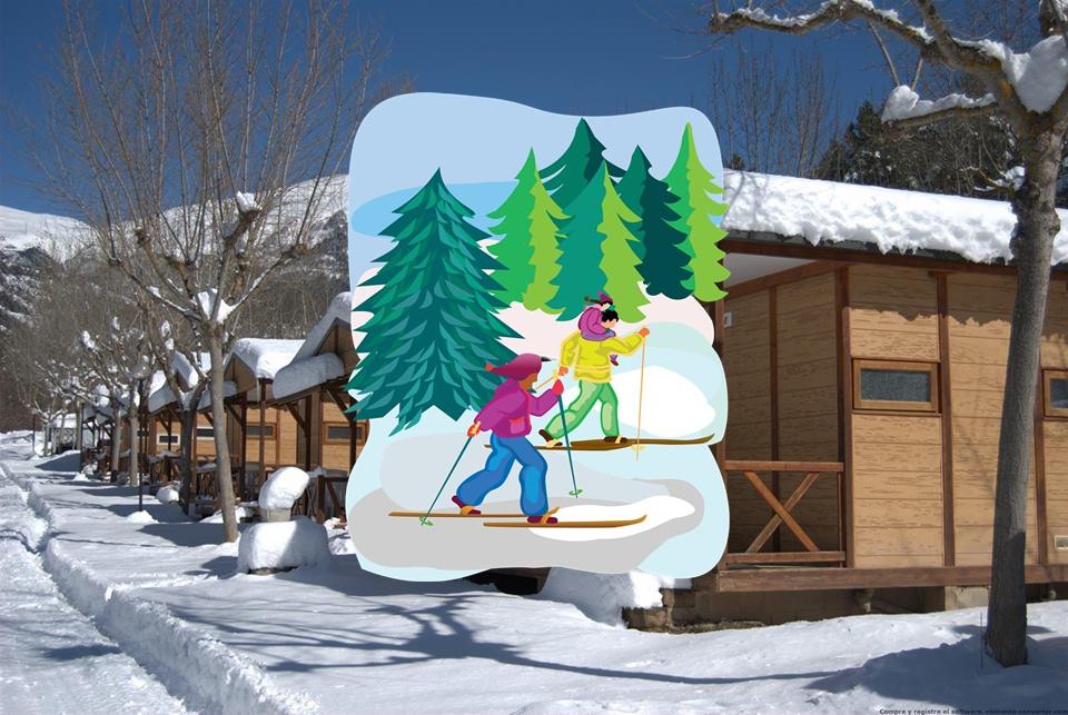 Esquí en la molina Bungalows o hotel