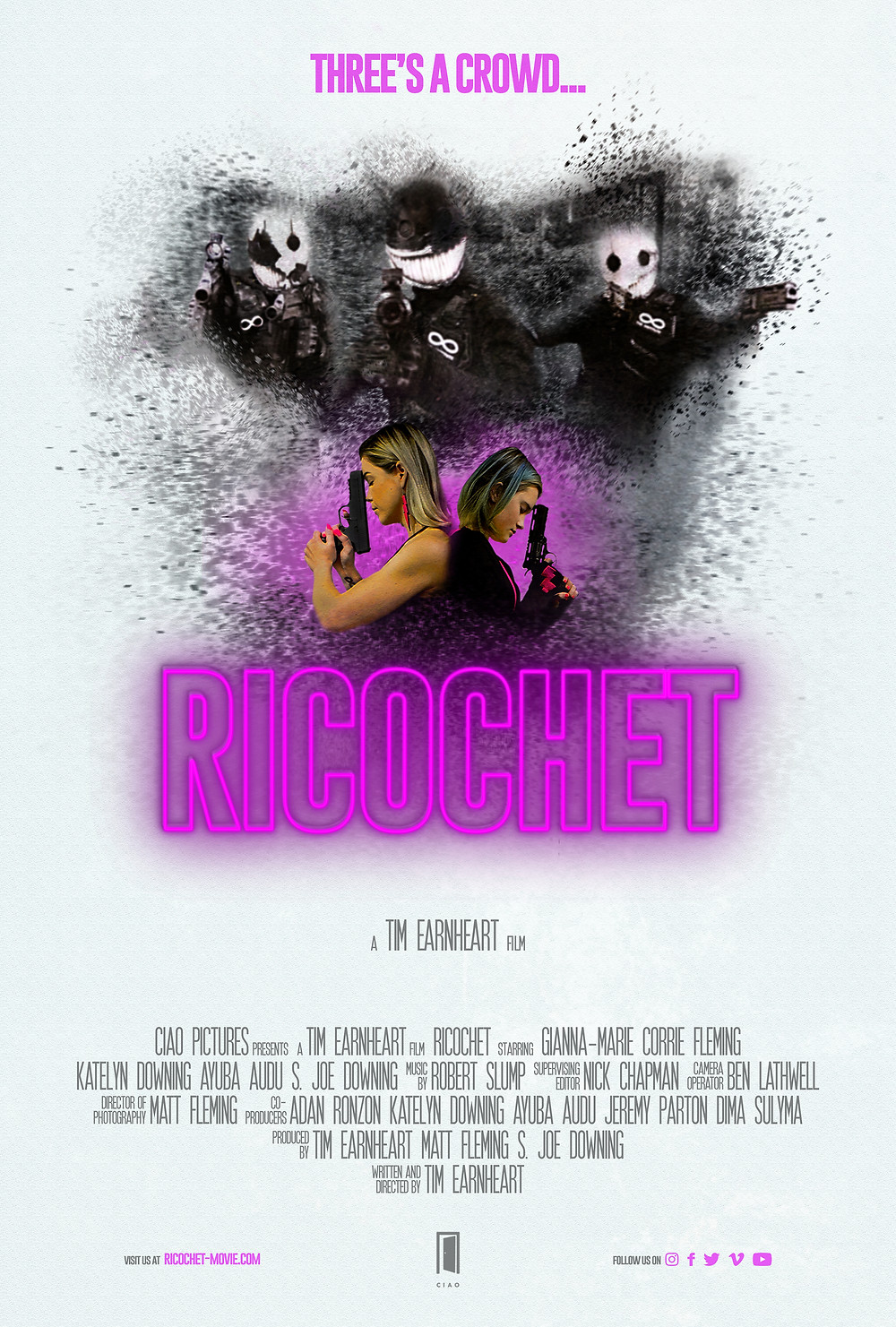 Ricochet short movie poster