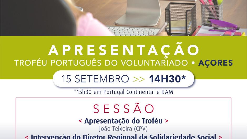 Apresentação do Troféu Português do Voluntariado - Açores