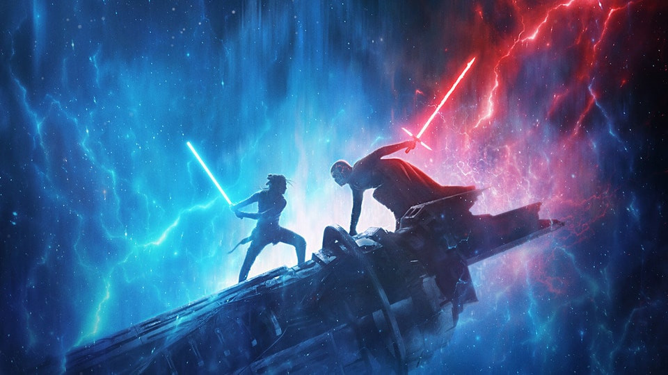 The Rise of Skywalker D23 Promo Art