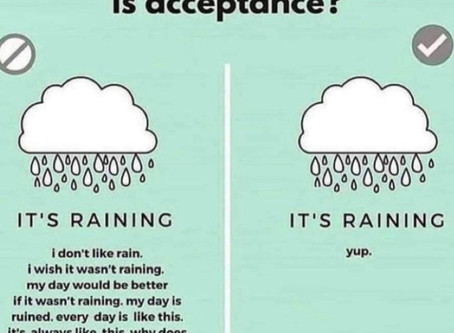 """Acceptance: What it is and What it """"ain't"""" - by Lesli Davis, LCSWA, LCASA"""