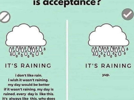 "Acceptance: What it is and What it ""ain't"" - by Lesli Davis, LCSWA, LCASA"