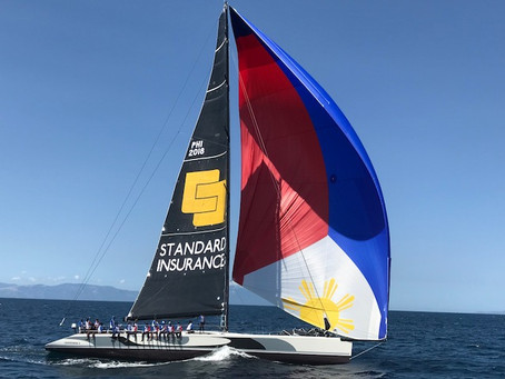 STANDARD INSURANCE CENTENNIAL 5 WINS LINE HONORS IN INAUGURAL 650NM RACE FROM HK to PUERTO GALERA