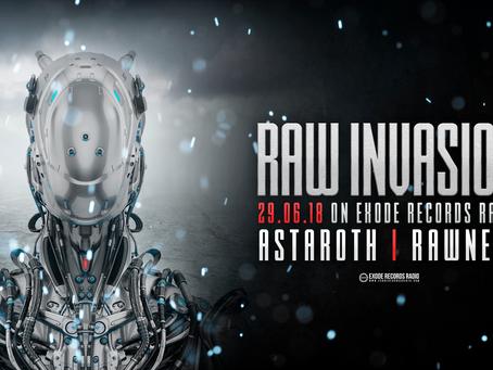 Tonight on Exode Records Radio [Raw invasion]