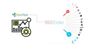 Appsflyer and Bidshake Integration