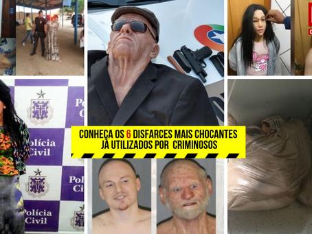 Conheça os 6 disfarces mais chocantes já utilizados por  criminosos