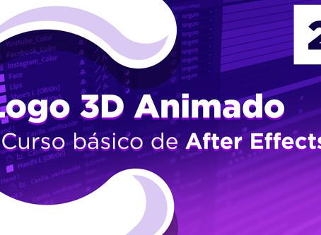 Crear LOGO 3D ANIMADO en After Efects - 21