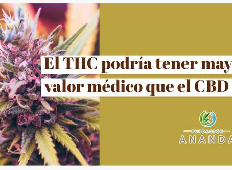 Estudio sobre Marihuana: El THC podría tener mayor valor médico que el CBD
